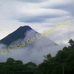 The volcano makes its own weather and is constantly changing