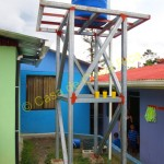 water tank in Children's Shelter