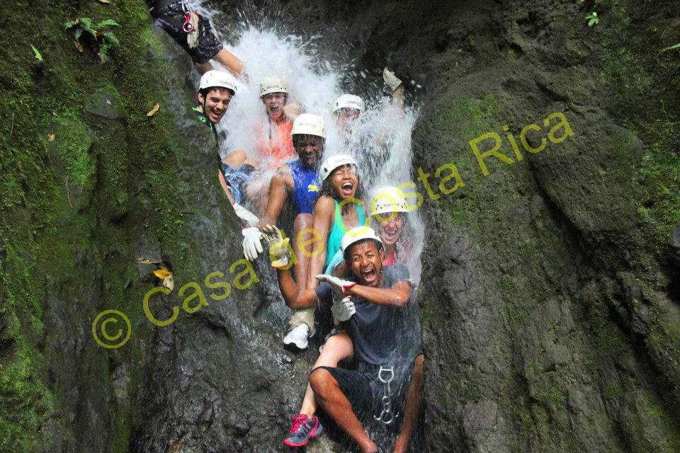 Prepare to get with this day of canyoning adventure!