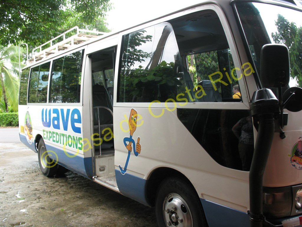 Hop on board the Wave Expeditions bus and prepare for a day filled with fun, adventure and water!