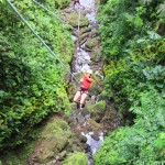 adventure in canyoning in Costa Rica