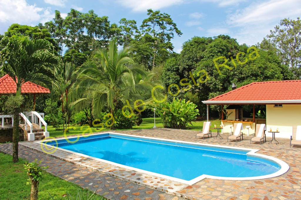 Emerald Estate: aptly named due to the lush greens throughout this gem of a property!