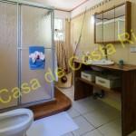 Large, ensuite master bathroom with toilet, bidet and shower.