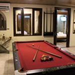billiard in peacock country estate