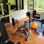 gym in peacock country estate