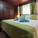 Bed in Arenal Luxury Hideaway