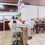 kitchen in arenal luxury hideaway
